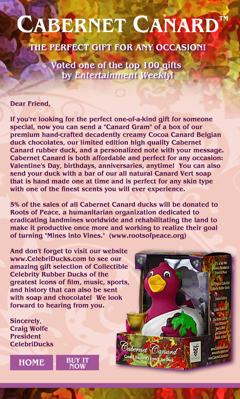 Cabernet Canard