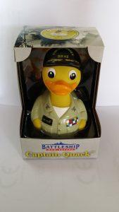 captain quack in gift box